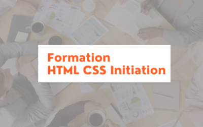 Formation HTML/CSS Initiation