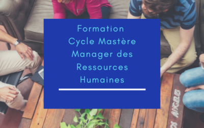 Formation Cycle Mastère Manager des Ressources Humaines