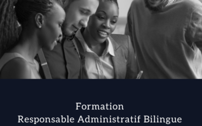 Formation Responsable Administratif Bilingue – Office Manager